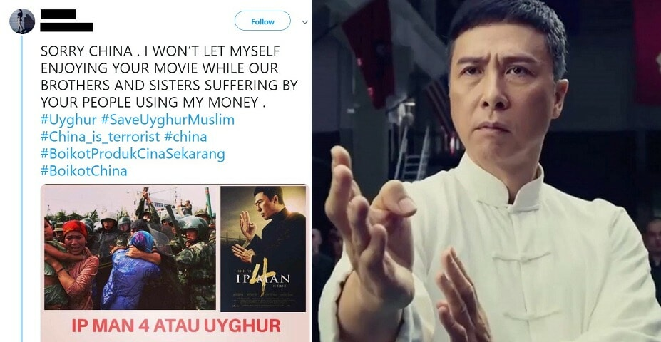 Malaysian Calls Everyone to Boycott 'Ip Man 4' Saying The Movie is From China - WORLD OF BUZZ
