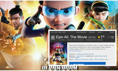 Malaysia's Ejen Ali Movie Gets An Astonishing 9.5 Rating On IMDb Review! - WORLD OF BUZZ