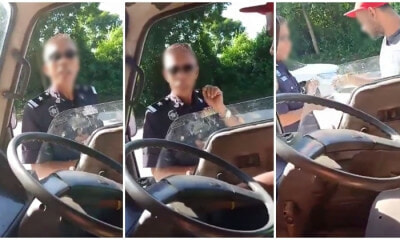 Man Driving Without A License Gets Pulled Over By Police, Wife Got Angry And Makes Wild Claims Instead! - WORLD OF BUZZ 2