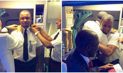 Man Who Worked As Cleaner Is Now An Airline Pilot After 24 Years of Hard Work - WORLD OF BUZZ