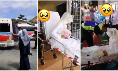 Medical Officer Uses Ambulance, Puts Wife On A Stretcher For Wedding Entrance Gimmick - WORLD OF BUZZ 6