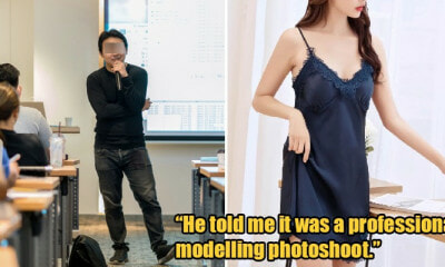 M'sian Girl Reveals Uni Lecturer Tricked Her Into Taking Sexy Photos, Other Victims Come Forward - WORLD OF BUZZ