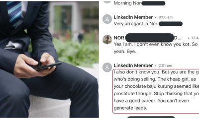 M'sian Man Calls Woman 'Prostitute' After She Ignored His DMs, Says She's 'Cheap' - WORLD OF BUZZ