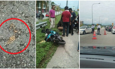 M'sian Man Unwilling To Be Robbed, Chases & Rams Robbers, Kills 1 Injures Another - WORLD OF BUZZ 4