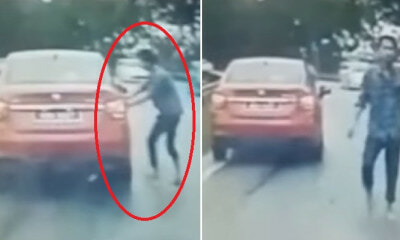 """My Doors Were Unlocked,"" Drunk Man Tries to Force Open Terrified M'sian Woman's Car On Highway - WORLD OF BUZZ"
