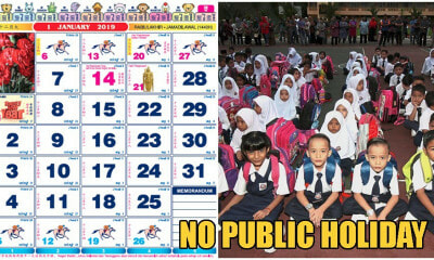 Take N1st January 2020 Won't Be A Public Holiday For All Malaysians! - WORLD OF BUZZ