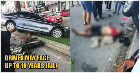 PDRM: Driver Who Killed Puchong Snatch Thief May Be Charged For Reckless Driving - WORLD OF BUZZ