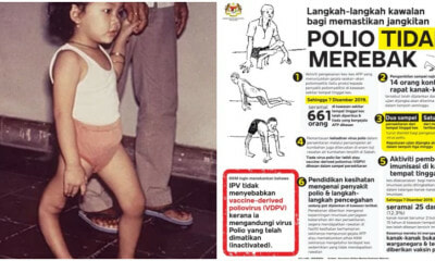 MOH: Controlling Measures Are Being Taken To Avoid The Spreading Of The Polio Infection - WORLD OF BUZZ