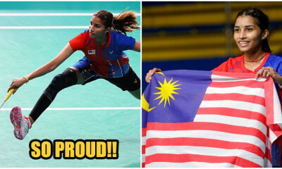 M'sian Shuttler S.Kisona MEnds 46 Year Drought By Bringing Home Gold - WORLD OF BUZZ