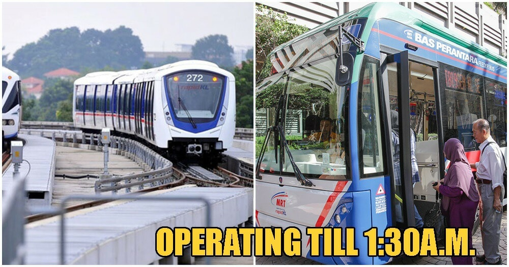 Rapid KL To Extend Operation Hours Of Selected Lines For 2020 New Years Day Countdown - WORLD OF BUZZ 6