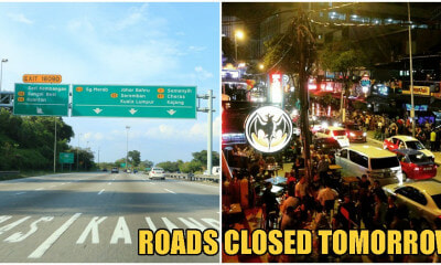 SILK Highway & These 5 Main Roads In KL, Kajang Will Be Closed Tomorrow Due To Protests Objecting Jawi - WORLD OF BUZZ 3