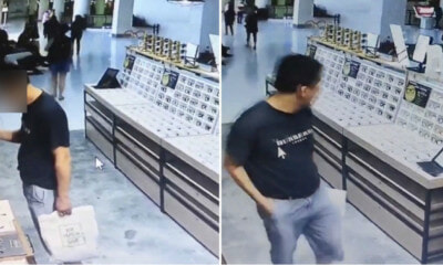 Singaporean Caught Red Handed Stealing, Explains He Was Just Play-Play Only - WORLD OF BUZZ 3
