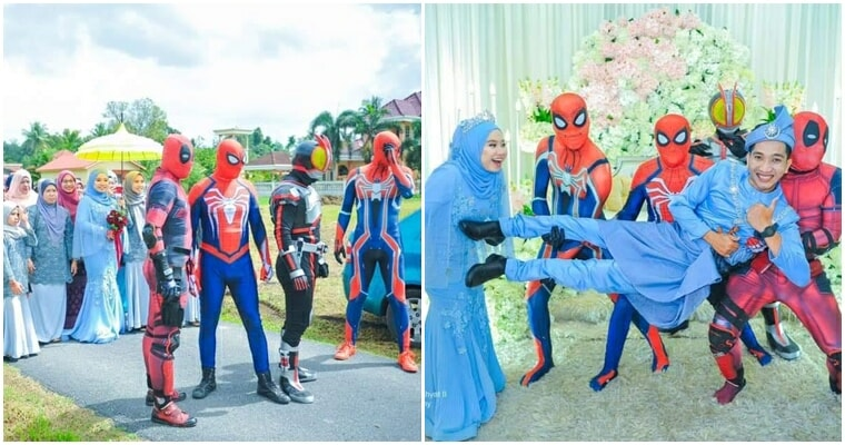 Brothers Wear Superhero Outfit On Their - WORLD OF BUZZ
