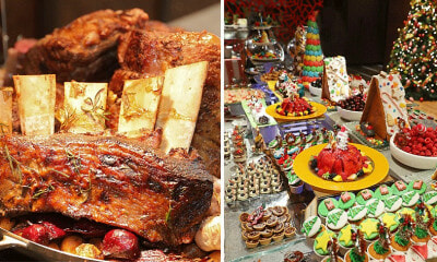 Tender Wagyu Striploin, Delectable Desserts & More, You NEED to Check Out This Amazing Christmas Buffet! - WORLD OF BUZZ