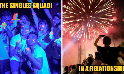 [TEST] How Malaysians Celebrate New Year's Eve When They're Single vs When In A Serious Relationship - WORLD OF BUZZ 1