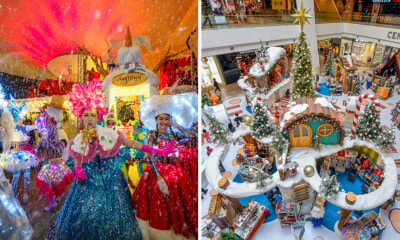 [TEST] Winter is Coming To This KL Mall with Snow, Magic of Kindness Parade & a Host of Amazing Activities - WORLD OF BUZZ 2