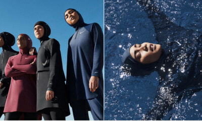 This Malaysian Beauty Is One Of The Faces Of Nike's Modest Swimwear Global Campaign - WORLD OF BUZZ 3
