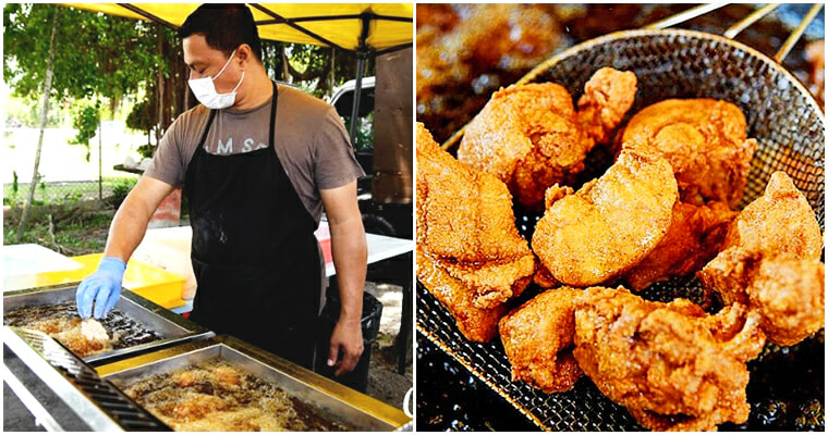Vendor Earned RM15,000 A Month Just From Selling RM1 Fried Chicken By The Streets Of Keramat - WORLD OF BUZZ 8