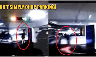 Video: M'sian Driver Almost Runs Over Person Who Was Trying To 'Chup' Parking Spot - WORLD OF BUZZ