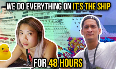 We Do Everything On IT'S THE SHIP For 48 Hours - WORLD OF BUZZ
