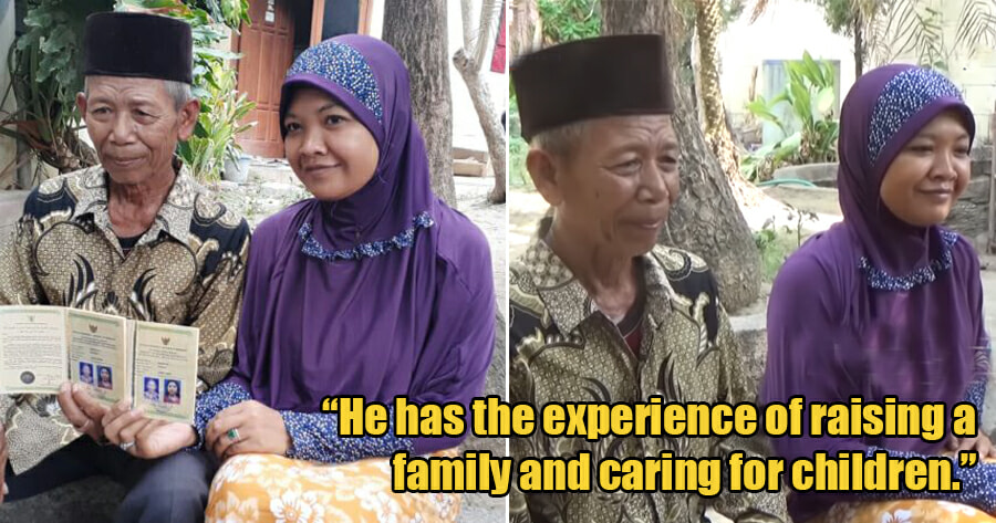28yo Woman Marries 70yo Man After 4 Months Of Meeting Each Other for the First Time - WORLD OF BUZZ