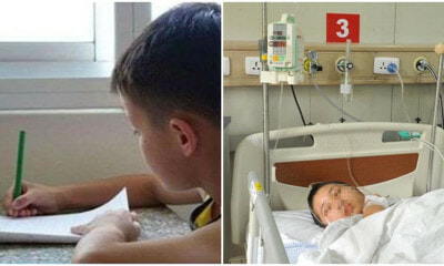 13yo Boy Suffers Severe Brain Inflammation After Staying Up At Night To Finish 8 Test Papers - WORLD OF BUZZ 5