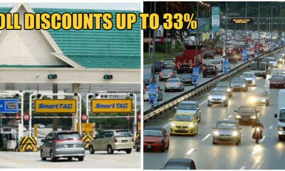 19 Highway Tolls Will Be Having Discounts Up To 33% on 25th Jan 2020 - WORLD OF BUZZ 1