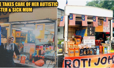 24yo M'sian Girl Gives Up Engineering Dream To Take Over Late Father's Burger Stall - WORLD OF BUZZ