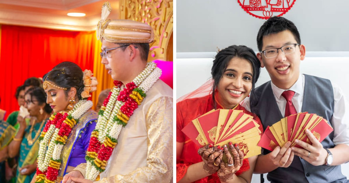 27yo M'sian Girl Shares Beautiful Photos of Her Wedding With Chinese & Indian Customs - WORLD OF BUZZ 4