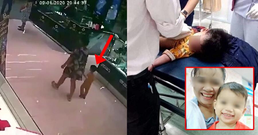 2Yo Boy In Bangkok Mall Shooting Was Shot In The Head By Gunman, Mum Posts - World Of Buzz