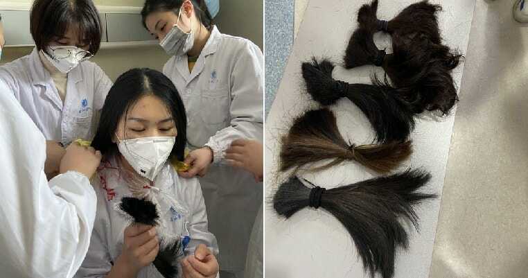 31 Wuhan Nurses Chop Off Their Long Hair So They Have More Time To Take Care Of Patients - World Of Buzz 7