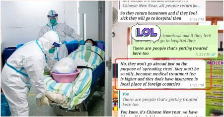 M'sian Girl's Conversation With Friend In China Addresses Rumours About Coronavirus - World Of Buzz