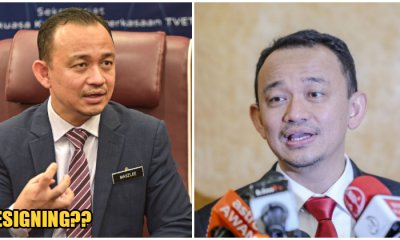 Minister of Education, Dr Maszlee Bin Malik Has Allegedly Resigned From Cabinet - WORLD OF BUZZ