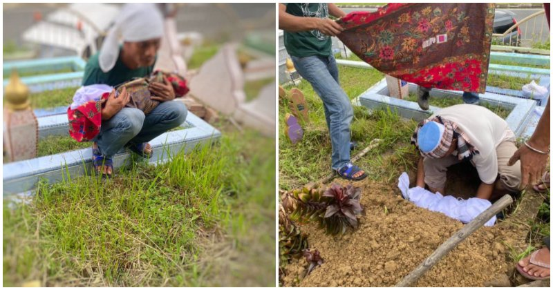 Sabah Villagers Deny Poor Father Space In Their Burial Ground For His Dead New Born Baby Because He Didn't Have Enough Money - World Of Buzz
