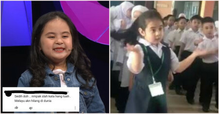Viral 7yo Iban Girl Criticised by Netizens Because She Didn't Know How to Speak Malay - WORLD OF BUZZ