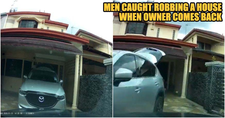 Men Got Caught Robbing When House Owner Comes Back Home - WORLD OF BUZZ