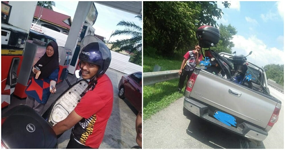 Bukit Jalil Security Guard Fired With Rm5 Salary, Forced To Push His Motorbike For 6 Hours To Get Home - World Of Buzz 2