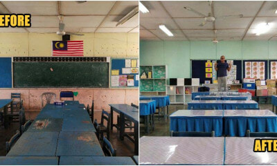 M'sian Parents Spent Chinese New Year Decorating Kid's Classroom & The Upgrade Is Amazing! - WORLD OF BUZZ