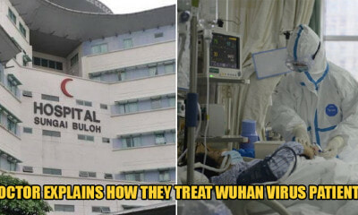 Doctor In Sungai Buloh Hospital Explains How They Treat the Wuhan Virus Patients & They Are Now Stable - WORLD OF BUZZ 1