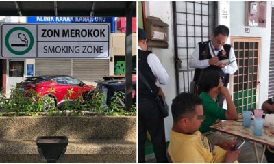Govt: RM1 Million Will Be Allocated to Build Smoking Areas in Public - WORLD OF BUZZ 1