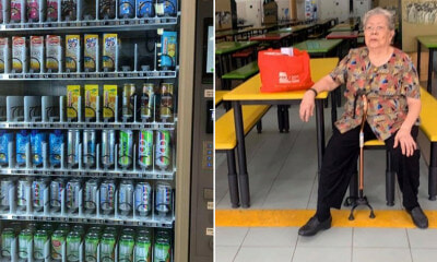 Grandma Drink Stall of Over 60 Years Forced  & Was Replaced by Vending Machine - WORLD OF BUZZ