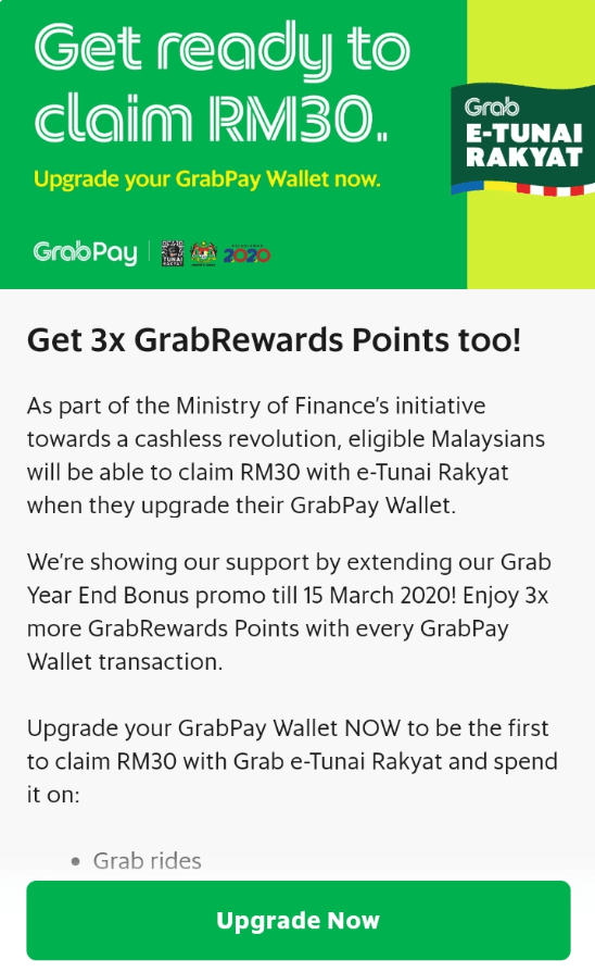 Here's How To Get The RM30 e-Tunai Rakyat In Your e-Wallet Starting 15 Jan - WORLD OF BUZZ 4