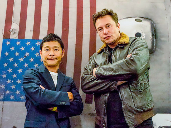 """I Want to Shout Our Love From Outer Space,"" Japanese Billionaire Seeks GF for Moon Voyage - WORLD OF BUZZ"