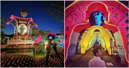 jenjarom lights lit weih CNY Lantern & Floral Festival - WORLD OF BUZZ 20