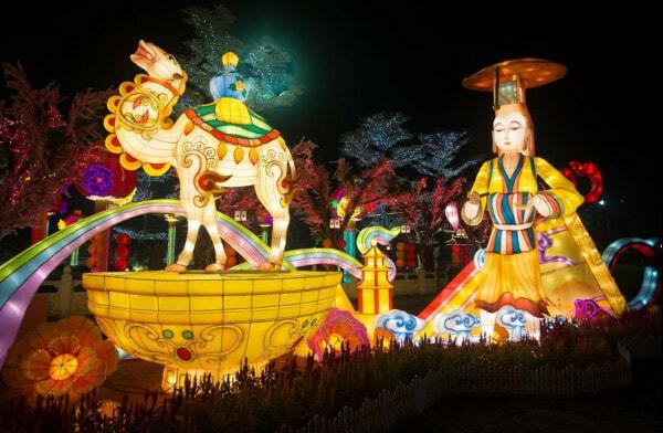 Jenjarom Lights Lit Weih Cny Lantern & Floral Festival - World Of Buzz 9