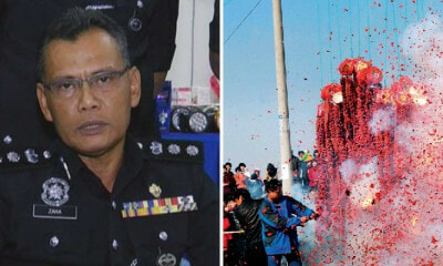 Johor Police: Red Firecrackers Not Longer Than 8 Feet Allowed To Be Used During CNY - WORLD OF BUZZ 3