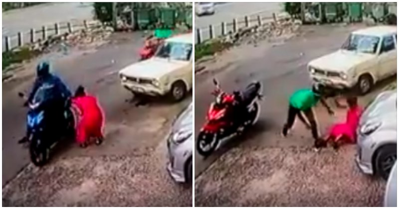 Kepong Lady Encounters 2 Snatch Thieves Back To Back, Netizens Blame Her For Not Being Alert - World Of Buzz