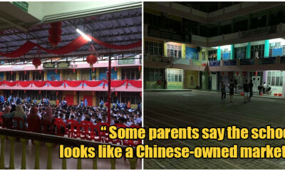 Lawyer Claims CNY Decor Was A 'Religious Display' In Puchong School, Forces Them To Remove It - WORLD OF BUZZ