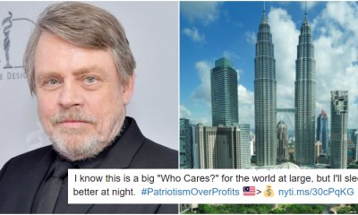 Mark Hamill Sends His Love To Malaysia After His Flag Blunder - WORLD OF BUZZ