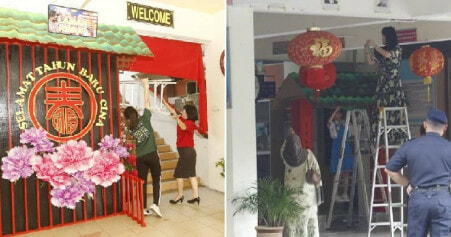 Moe & Pdrm Says No Issue With Puchong School's Cny Decor, Ornaments Put Up Again - World Of Buzz 3